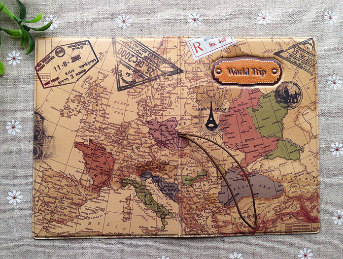 World Map Passport Holder.World Map 3d Passport Cover No More Bent Corners While Traveling